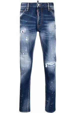 Dsquared2 Mænd Slim - Cool Guy jeans med smalt snit og slitageeffekt