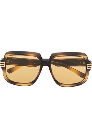 Gucci Solbriller - Oversize solbriller med skildpaddeeffekt