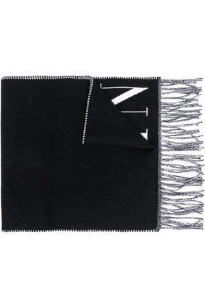 VALENTINO VLTN halstørklæde i strik med logo