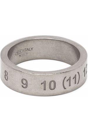 Maison Margiela Mænd Ringe - Ring med graveret nummer