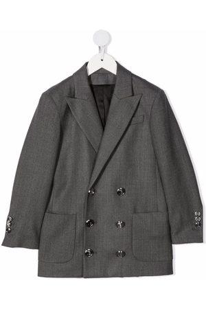 Balmain Drenge Blazere - Dobbeltradet blazer