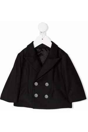 Balmain Baby Blazere - Cropped dobbeltradet jakke