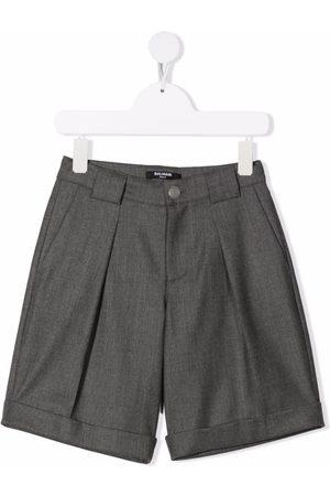 Balmain Skræddersyede shorts med brede ben