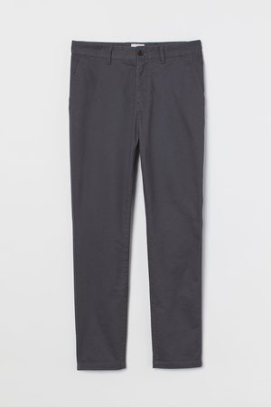 H&M Mænd Chinos - Chinos i bomuld Skinny Fit