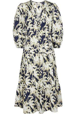 Diane von Furstenberg Camille printed stretch-cotton midi dress