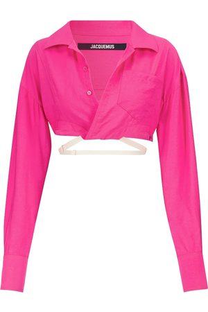 Jacquemus Kvinder Natkjoler - Exclusive to Mytheresa – La Chemise Laurier cropped shirt