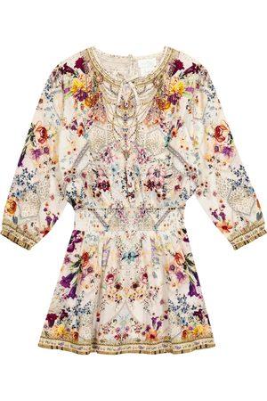 Camilla Piger Kjoler - Embellished floral dress