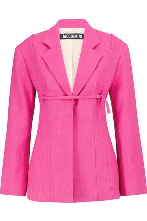 Jacquemus Kvinder Veste - Exclusive to Mytheresa – La Veste Sauge line-blend jacket