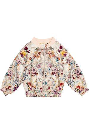Camilla Floral bomber jacket