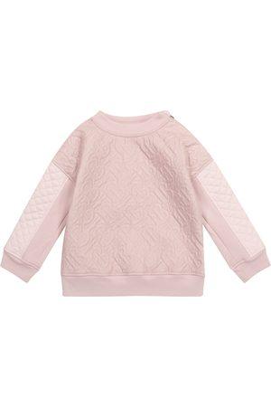 Burberry Piger Sweatshirts - Monogram quilted sweatshirt