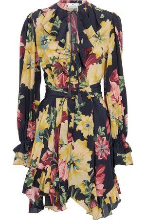 Etro Kvinder Festkjoler - Floral silk crêpe de chine minidress