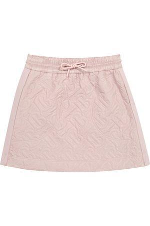 Burberry Piger Nederdele - Monogram quilted skirt