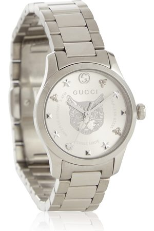 Gucci Kvinder Ure - G-Timeless 27mm stainless steel watch