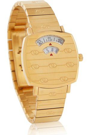 Gucci Kvinder Ure - Grip 27mm stainless steel watch