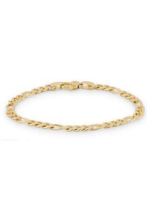 TOM WOOD Mænd Armbånd - Figaro Thick Bracelet Gold
