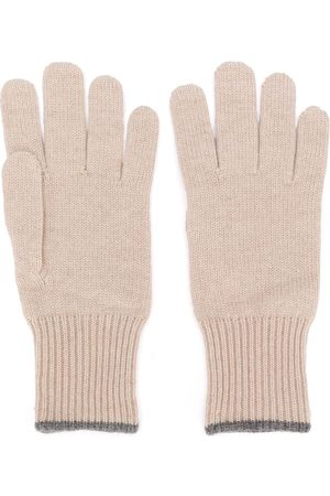 Brunello Cucinelli Mænd Handsker - Handsker i kashmir