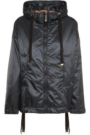 Max Mara Hooded Waterproof Tech Puffer Jacket