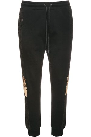 Dolce & Gabbana Mænd Joggingbukser - Logo & Cotton Sweatpants