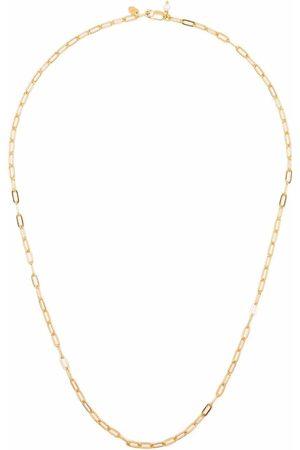 Maria Black Gemma halskæde i guldbelagt sterlingsølv