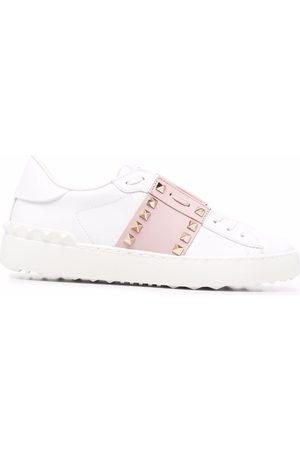 VALENTINO GARAVANI Kvinder Sneakers - Open low-top slip-on sneakers