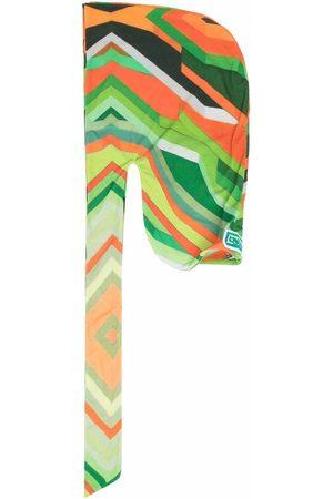 Formy Studio Stripe-print draped hat