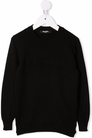 Balmain Fine-knit virgin wool jumper