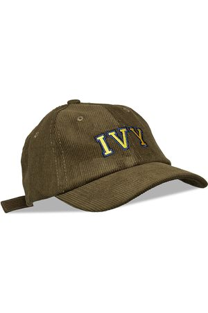 AN IVY Mænd Kasketter - Army Green Ivy Corduroy Cap Accessories Headwear Caps