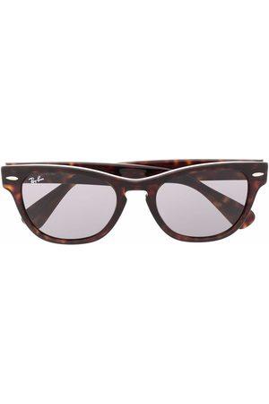 Ray-Ban Firkantede briller med skildpaddeeffekt