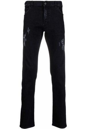 MARCELO BURLON Mænd Slim - Distressed slim-fit jeans