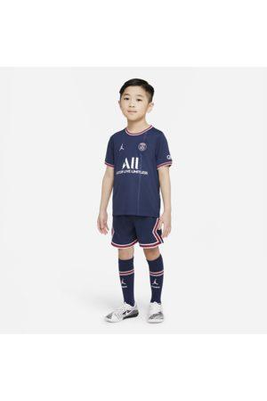 Nike Paris Saint-Germain 2021/22 Home-fodboldsæt til mindre børn