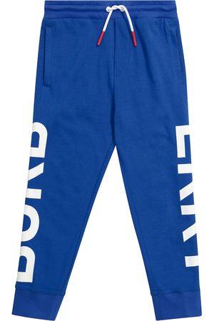 Burberry Drenge Joggingbukser - Logo cotton sweatpants