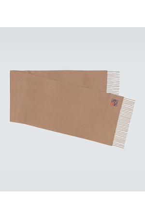 Loewe Anagram cashmere scarf