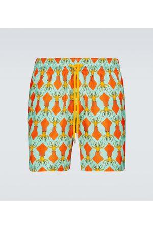 Vilebrequin Mænd Badeshorts - Mahina printed swim shorts
