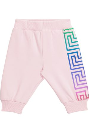 VERSACE Baby stretch-cotton trackpants