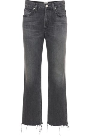 Citizens of Humanity Daphne Crop High Waist Stovepipe Jeans