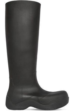 Bottega Veneta 55mm Puddle Rubber Tall Boots