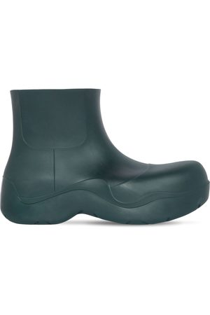 Bottega Veneta 55mm Puddle Rubber Ankle Boots