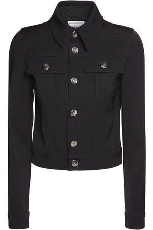 Bottega Veneta Stretch Double Wool Cavalry Jacket