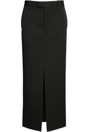 Bottega Veneta Grain De Poudre Sartorial Pencil Skirt