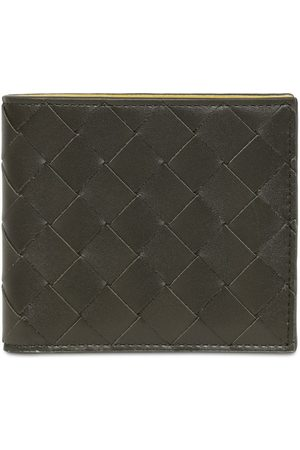 Bottega Veneta Intreccio Two Tone Leather Wallet
