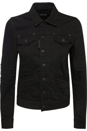 Dsquared2 Icon Jean Logo Cotton Denim Jacket