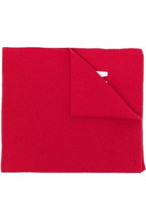 Dsquared2 Mænd Tørklæder - Embroidered-logo ribbed-knit scarf