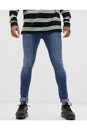Topman Spray-on-jeans i mellemvask