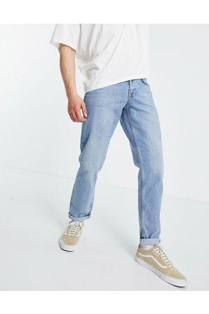 ASOS Slim-jeans i mellemvasket denim-Blå
