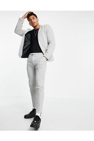 ASOS Elegante super skinny-joggingbukser med løbesnor i taljen i jersey