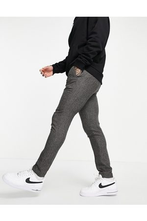 ASOS Skinny suit habitbukser i tekstur