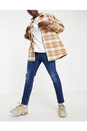 ASOS Slim-jeans med stræk i dark wash