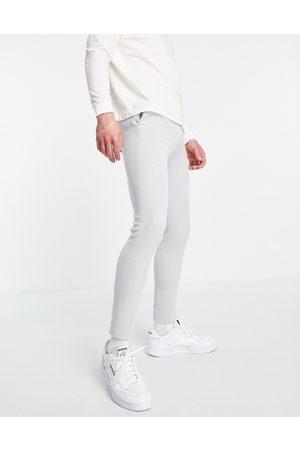 ASOS Elegante super skinny-Oxford-bukser i