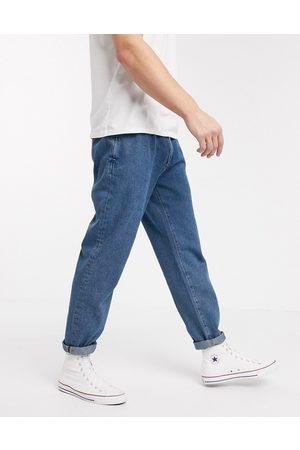 ASOS Dobbeltplisserede jeans i lyseblå