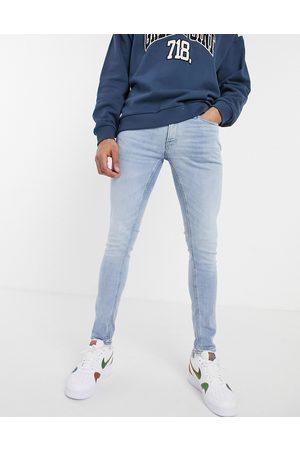 JACK & JONES Intelligence - Liam - Lyseblå jeans i skinny fit